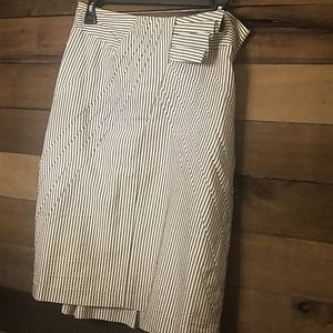 Anthropologie size 8 Tuxedo design skirt